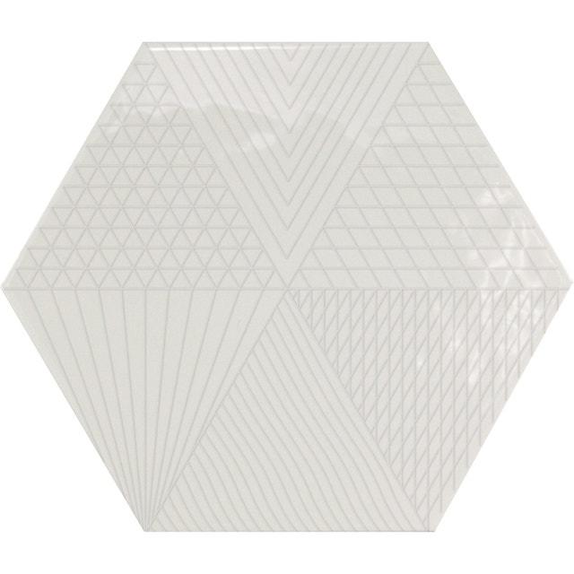 Du Carrelage Hexagonal Sur Le Mur De La Cuisine Leroy Merlin