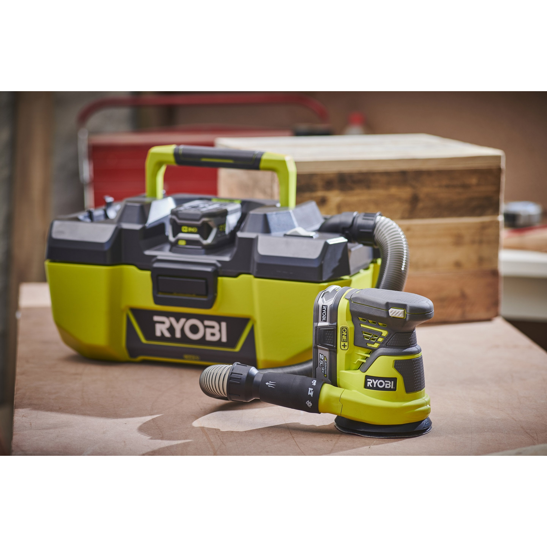 sans batterie ni chargeur R18PV-0 Aspirateur datelier RYOBI 18 V One Plus