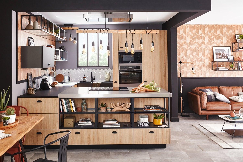 Une cuisine au style industriel