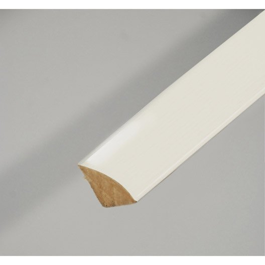 quart de rond m dium mdf blanc 14 x 14 mm l 2 4 m leroy merlin. Black Bedroom Furniture Sets. Home Design Ideas