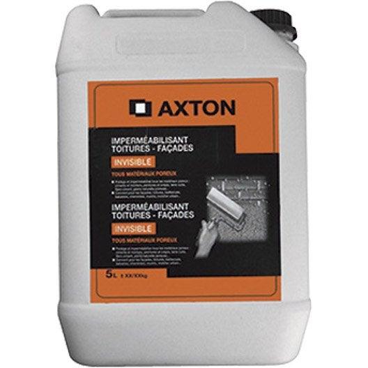 Imperm abilisant axton 5 l incolore leroy merlin - Produit impermeabilisant pour toiture ...