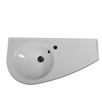 Plan vasque Esquisse gauche 85 cm