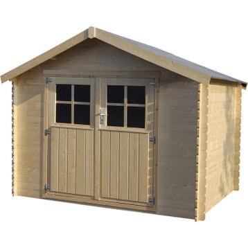 abri de jardin bois m tal r sine chalet de jardin. Black Bedroom Furniture Sets. Home Design Ideas