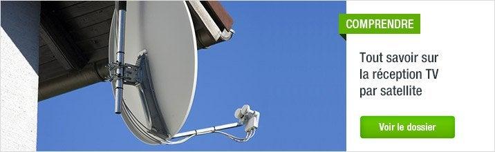 r ception tv tnt par satellite parabole fixation antenne tv parabole et connectique. Black Bedroom Furniture Sets. Home Design Ideas