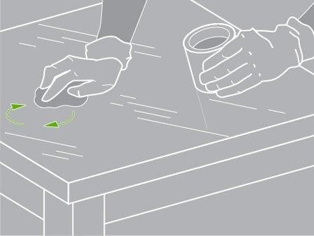 Comment restaurer un meuble en bois les chroniques de for Cirer un meuble peint