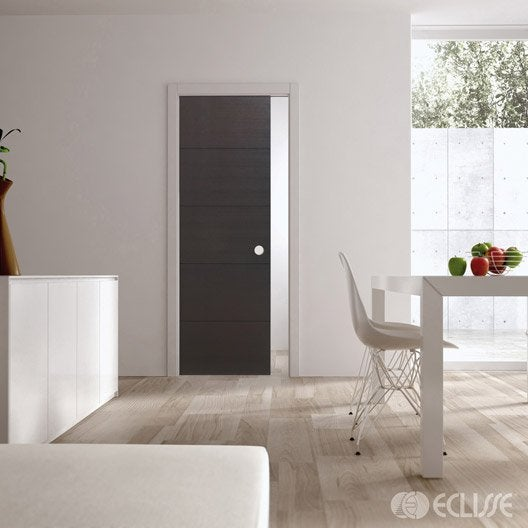 ensemble porte coulissante tokyo fr ne avec le galandage. Black Bedroom Furniture Sets. Home Design Ideas