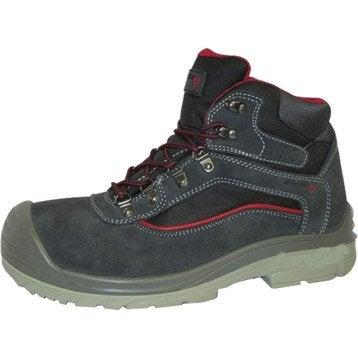Chaussures de protection hautes REDSTONE Allen, coloris noir T43
