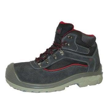 Chaussures de protection hautes REDSTONE Allen, coloris noir T44