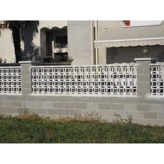 finest claustra florian blanc l x h x p cm with claustra composite prix. Black Bedroom Furniture Sets. Home Design Ideas