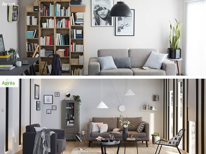 Avant / Après : Relookez votre salon