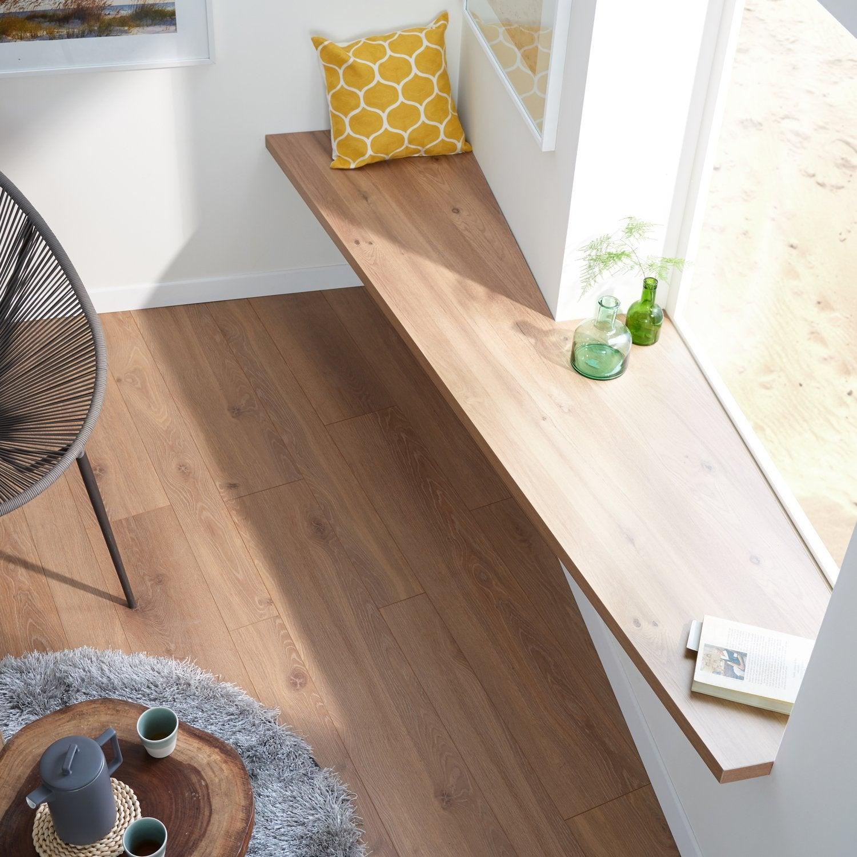 Un parquet en ch ne naturel pour sublimer votre salon - Peinture pour parquet en bois ...