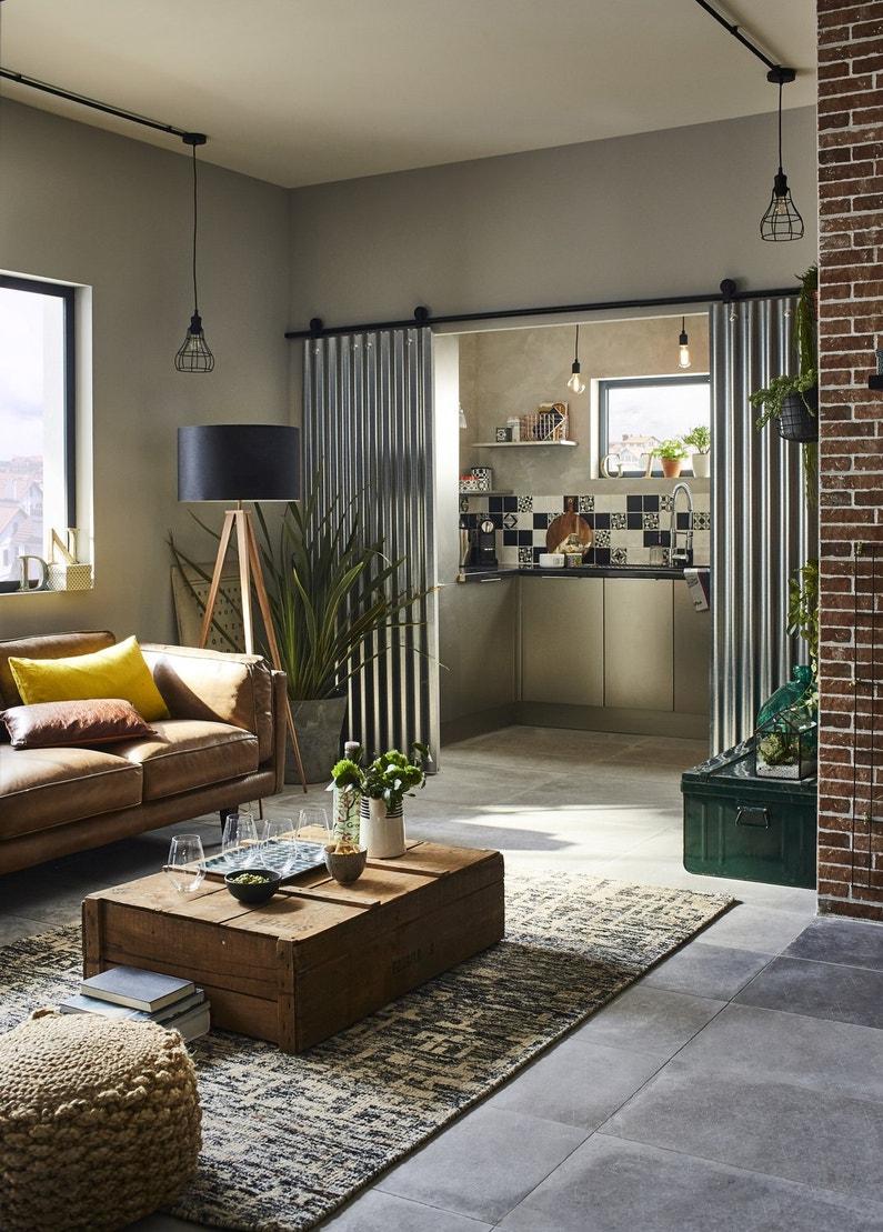 une double porte coulissante imagin e partir de plaques. Black Bedroom Furniture Sets. Home Design Ideas