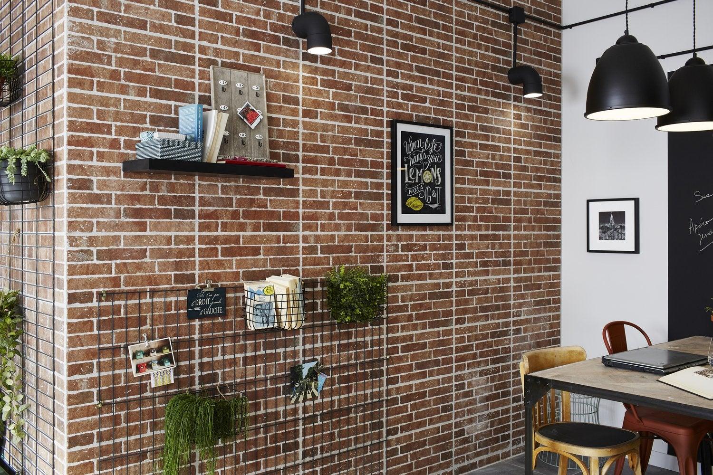 brique de parement interieur brique de parement interieur with brique de parement interieur. Black Bedroom Furniture Sets. Home Design Ideas