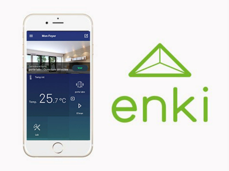 ENKI, découvrir le tutoriel de l'application maison connectée