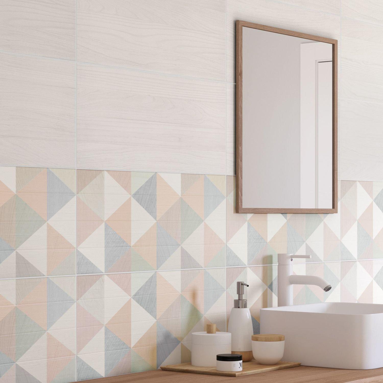 Salle De Bain Agrandir ~ d corez la salle de bains avec un carrelage au style scandinave