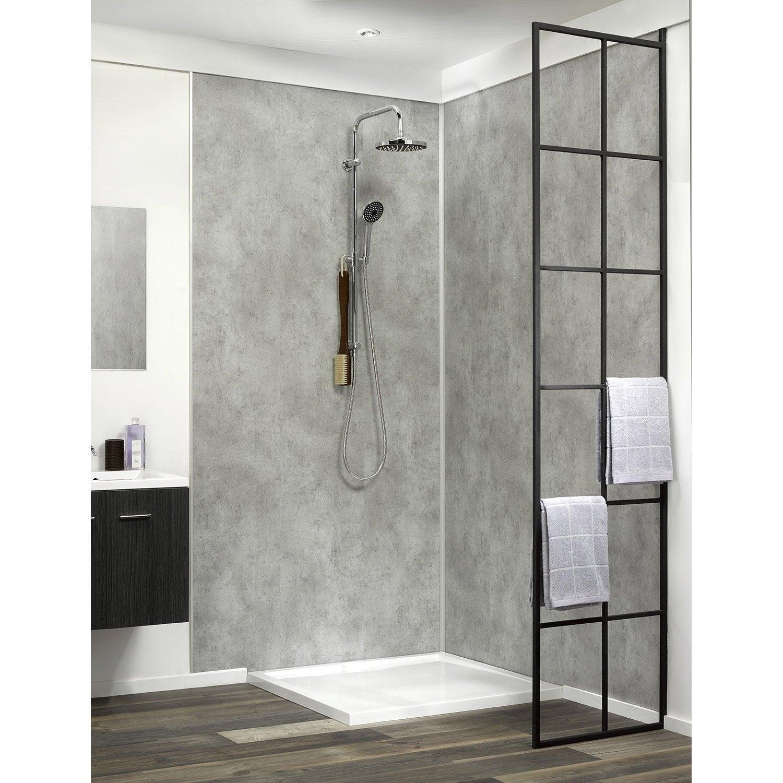 dalle murale pvc excellent dalle pvc murale pour salle de bain salle de bain dalle murale pvc. Black Bedroom Furniture Sets. Home Design Ideas