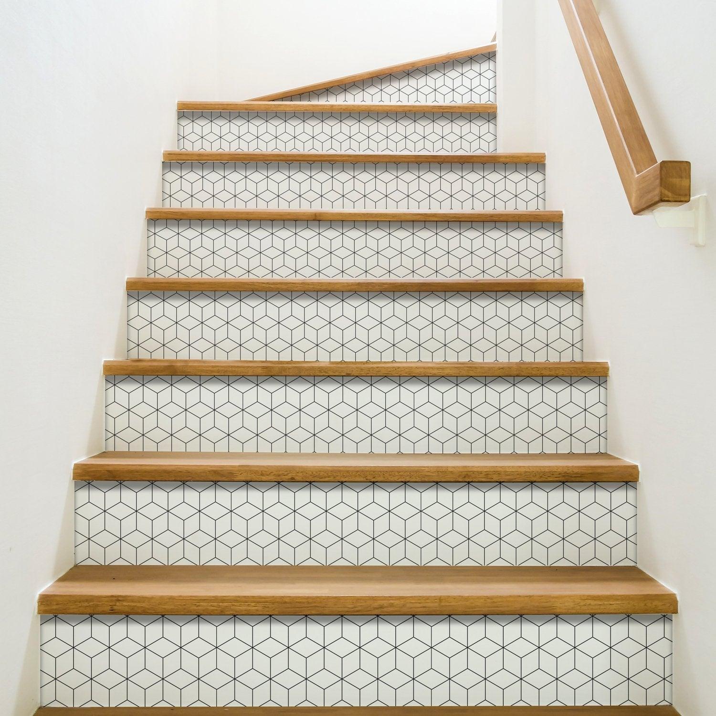 Stickers Pour Contremarche De La Deco Dans L Escalier Leroy Merlin