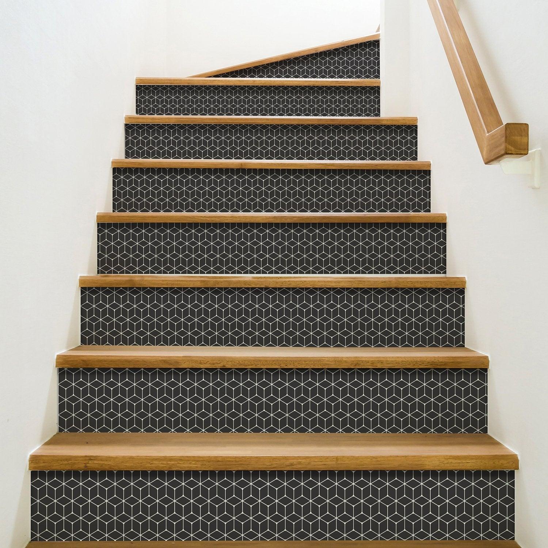 Décoration Marche Escalier Intérieur stickers pour contremarche, de la déco dans l'escalier