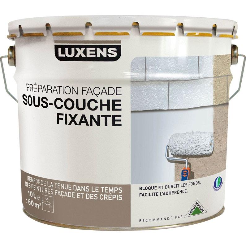 Sous-couche façade LUXENS, blanc grisé, 10 l | Leroy Merlin