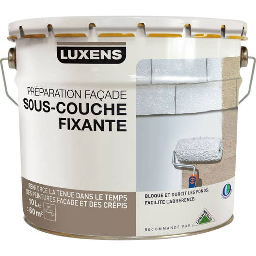 sous couche faade luxens blanc gris 10 l