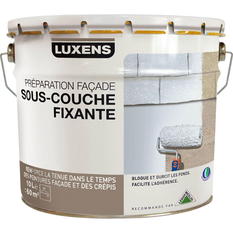 Souscouche Façade LUXENS Blanc Grisé L Leroy Merlin - Sous couche de peinture