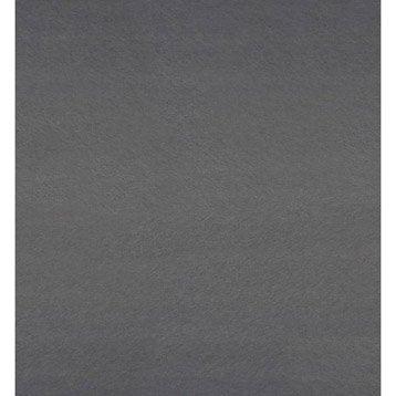 Chant de crédence stratifié Gris métal l.1.3 x L.500 cm
