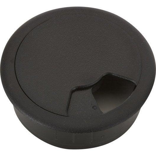 1 passe fils plastique brut hettich leroy merlin. Black Bedroom Furniture Sets. Home Design Ideas