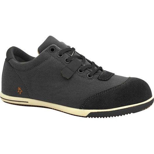 chaussures de s curit basses kapriol sharon coloris gris t40 leroy merlin. Black Bedroom Furniture Sets. Home Design Ideas