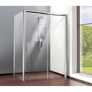 Paroi et porte de douche leroy merlin - Paroi coulissante douche ...