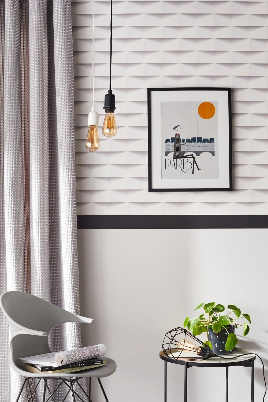 Habillez Les Murs De Maniere Elegante Avec Un Papier Peint Origami
