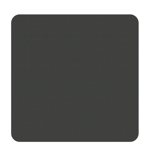 Plaque de protection sol acier noir atelier dix neuf carr e x cm leroy merlin - Plaque acier protection poele ...