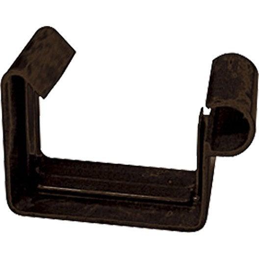 jonction carr e d velopp 16cm pvc marron girpi leroy. Black Bedroom Furniture Sets. Home Design Ideas