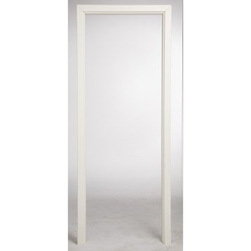 Porte classique bloc porte porte bois porte ch ne leroy merlin - Kit d habillage pour bati de porte ...