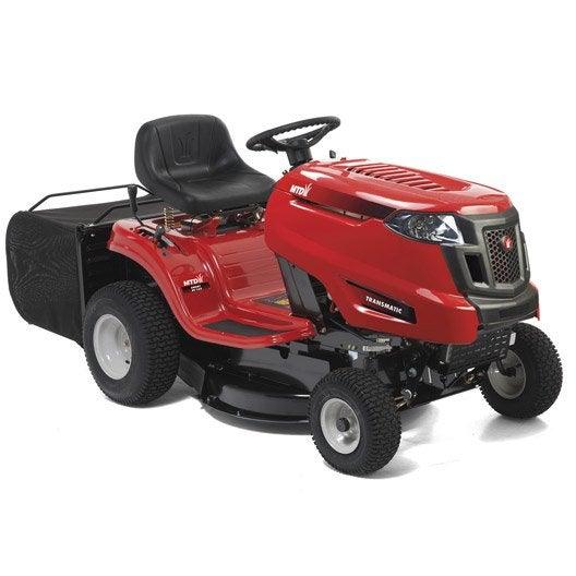 tracteur de pelouse jection arri re mtd rc 125 344cm3 leroy merlin. Black Bedroom Furniture Sets. Home Design Ideas