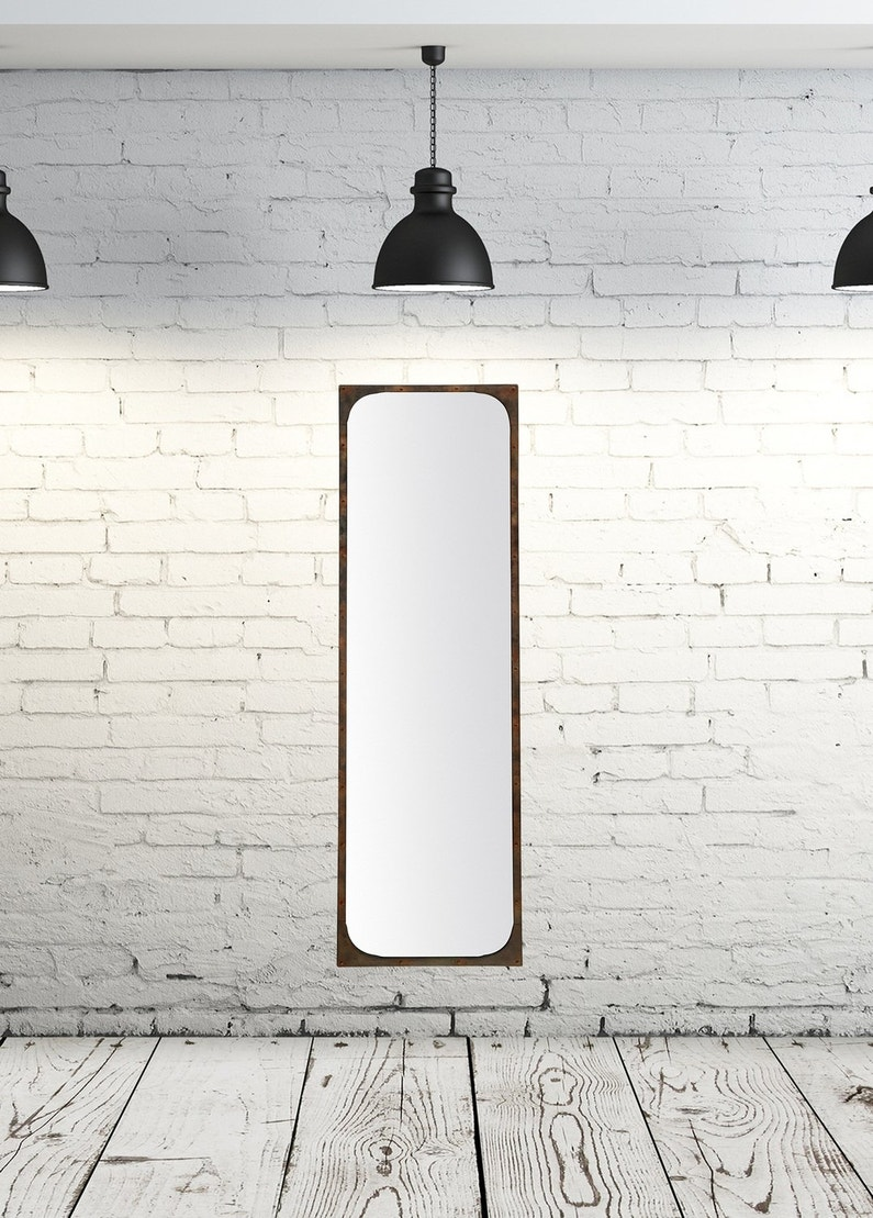 Un miroir style industriel leroy merlin for Miroir industriel