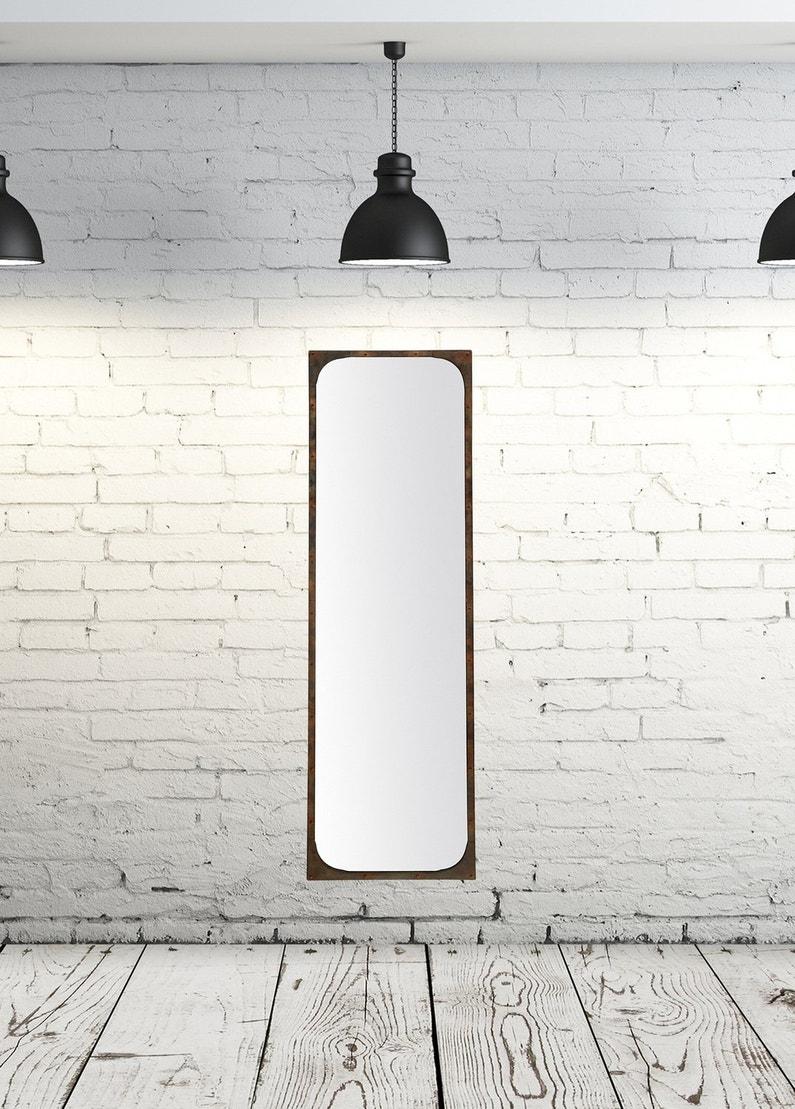 Un miroir style industriel leroy merlin for Miroir qui s ouvre