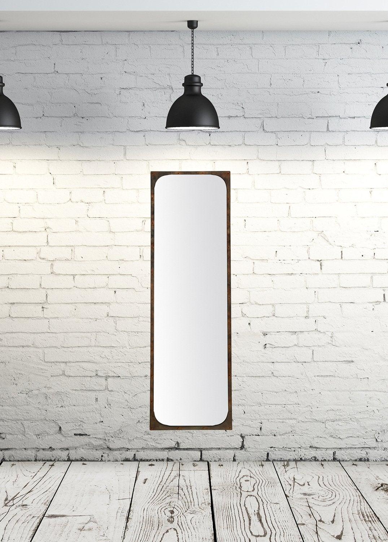 De Haute Qualite Un Miroir Style Industriel
