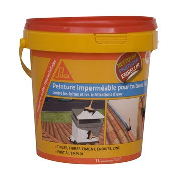 Imperméabilisant SIKA Sikagard 1 l incolore