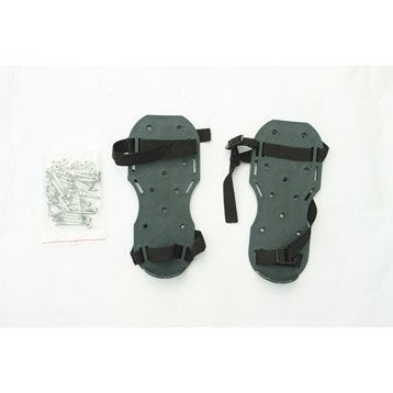 Chaussures aératrices de pelouse