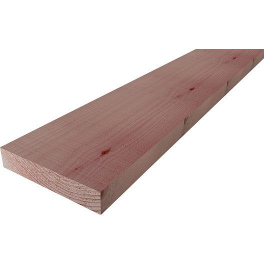 Etagere en bois leroy merlin top bcher bois memphis for Planche douglas castorama