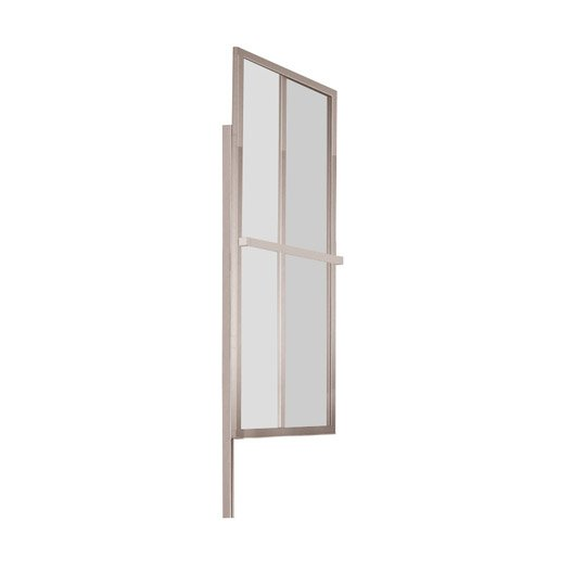 pare baignoire 2 volets pivotant pliant verre transparent atelier du bain lift leroy merlin. Black Bedroom Furniture Sets. Home Design Ideas