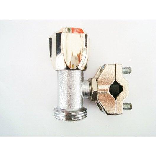 robinet d 39 arr t autoperceur 20 x 27 mm leroy merlin. Black Bedroom Furniture Sets. Home Design Ideas