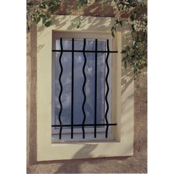 grille de d fense grille de fen tre de protection au meilleur prix leroy merlin. Black Bedroom Furniture Sets. Home Design Ideas