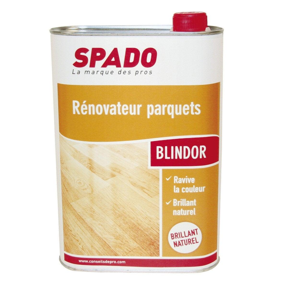 Protecteur Emulsion Brillante Parquet Blindor Spado 1 L Leroy Merlin