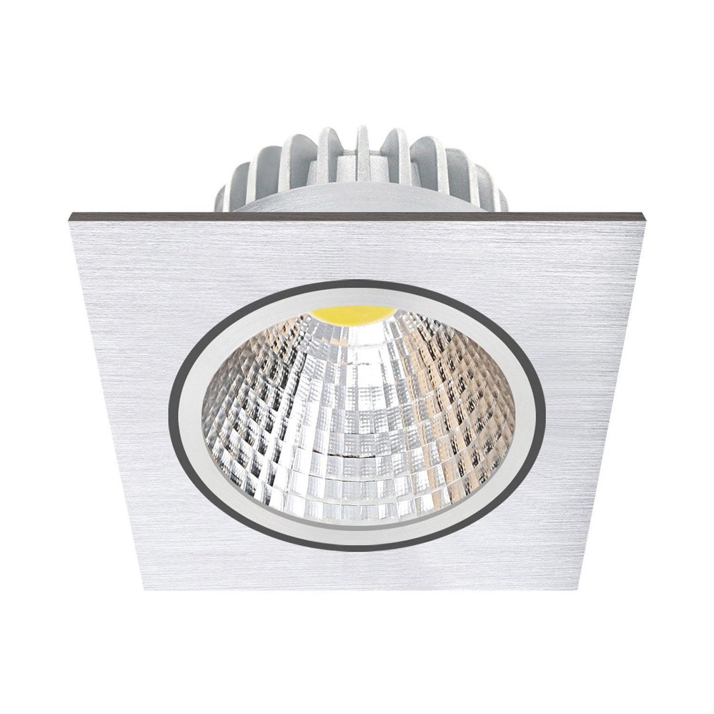 Quel Spot Dans Salle De Bain kit 1 spot à encastrer salle de bain led orientable wels, 3w, aluminium,  inspire