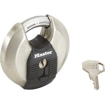 Cadenas à clé MASTERLOCK acier, l.80 mm