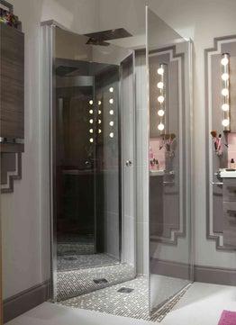 Bien am nager une petite salle de bains leroy merlin for Salle de bain 3m2 leroy merlin