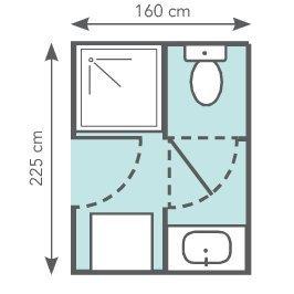 bien am nager une petite salle de bains leroy merlin. Black Bedroom Furniture Sets. Home Design Ideas