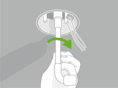 Comment poser un plafonnier ou une suspension leroy merlin for Poser une applique murale sans percer