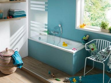 Am nager la salle de bains pour l arriv e de b b leroy merlin - Salle de bain bebe ...